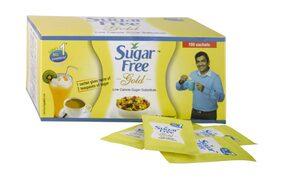 Sugar Free Gold Low Calorie Sweetener 100 Sachets
