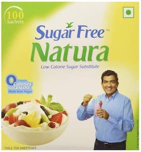 Sugar free Natura - Sweetener Sachets 100 X .75 gm