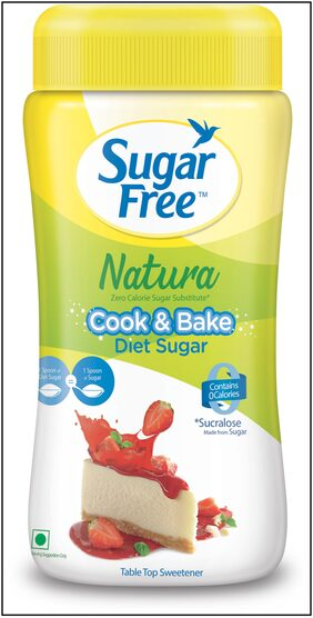 Sugar Free Natura Zero Calorie Sweetener 80G Diet Powder Jar