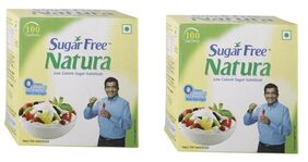 Sugar Free Natura 100 Sachet Pack of 2