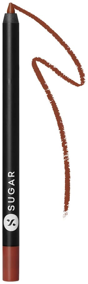 SUGAR Cosmetics Lipping On The Edge Lip Liner (Brown) 1.2g