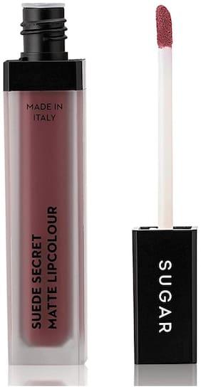 Sugar Cosmetics Suede Secret Matte Lipcolour 01 Muslin Mauve (Mauve Nude)