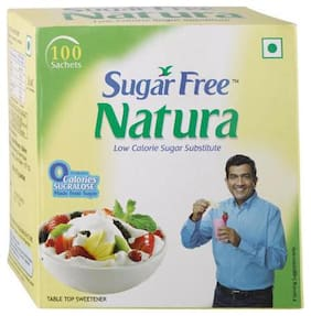 Sugarfree Natura Pack 100 Sachet