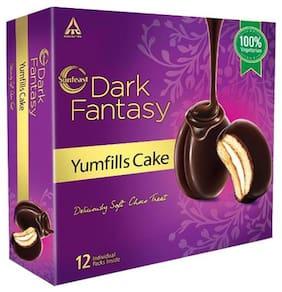 Sunfeast Dark Fantasy YumFills Cake - 100% Vegetarian 253 g