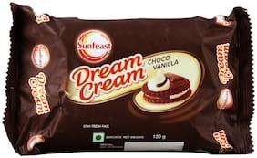 Sunfeast Dream Cream - Chocolate & Vanilla 120 g