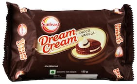 Sunfeast Dream Cream - Chocolate & Vanilla 120 gm