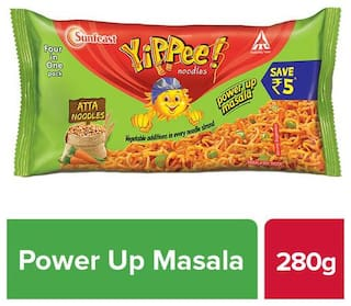 Sunfeast YiPPee Atta Noodles - Power Up Masala 280 g