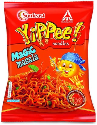 Sunfeast Yippee Noodles - Magic Masala 60 g
