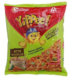 Sunfeast Yippee Atta Noodles - Power Up Masala