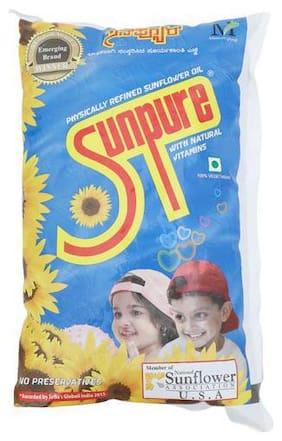 Sunpure  Refined - Sunflower Oil 1 L