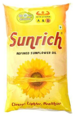 Sunrich Refined - Sunflower Oil 1 L