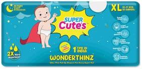 Super Cute's Wonder Thinz Pant Style Ultra Premium Diaper For 2X Absorption - XL (25 pcs)
