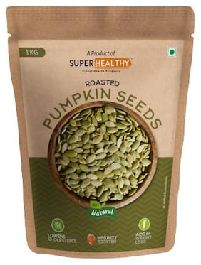 Super Healthy Roasted Pumpkin Seeds | Edible Raw Seeds | Organic And Crunchy Pumpkin Seeds For Eating 1 kg