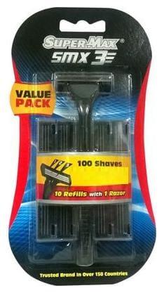 Super Max  SMX 3 - 3 Blade Shaving System (Jumbo Pack) 1 pc