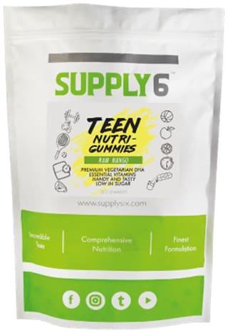 Supply6 - Teen Nutri Gummies (Raw Mango  30 Chewables) 150 gm