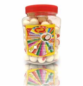 Surbhi Coconut Milk Peda Narial Methai Butter Toffee 600g