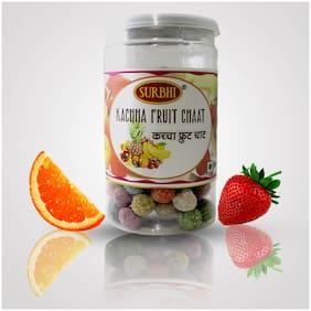 Surbhi Fruity Juicy Kachha Fruit Chaat Candy 100 g ( Pack Of 3 )
