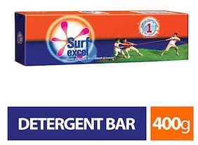 Surf Excel Detergent Bar 400 g