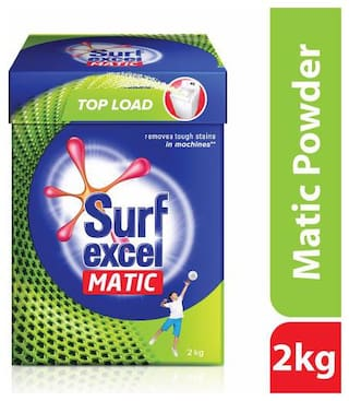 Surf Excel Matic Top Load Detergent Powder 2 kg