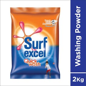 Surf Excel Quick Wash Detergent Powder 2 kg