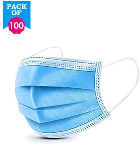 Svaar 3ply Disposable Surgical Mask(Pack of 100)