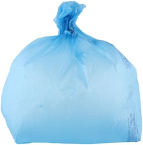 Swachhta First Garbage Bags Blue Large Size 30 pcs (Pack Of 12)