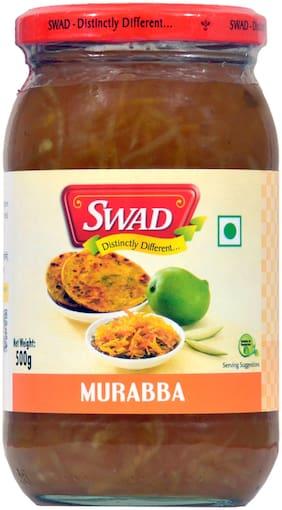 SWAD Distinctly Different and Delicious Mango Murabba / Aam ka Murabba / Keri No Murabbo 500g