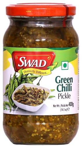 Swad Green Chilli Pickle 400 g