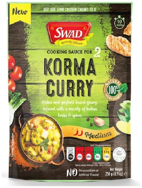 Swad Korma Cooking Sauce 250 g (Pack of 1)