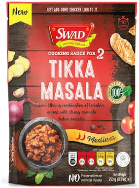 Swad Tikka Masala Curry Cooking Sauce 250 g (Pack of 1)