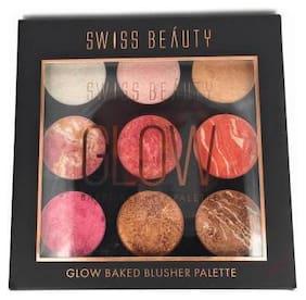 Swiss Beauty glow Baked Blusher Palette Sb-815 (1)-24g
