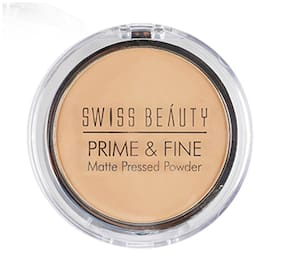 Swiss Beauty Prime & Fine Matte Pressed Powder 10 g