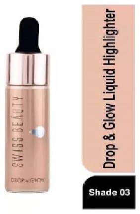 Swiss Beauty Liquid Highlighter Drop & Glow Metal SB-810 (3)