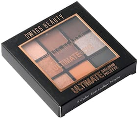 Swiss Beauty Ultimate Shadow Palette (1) SB- 706  9G Multi Pack of 1