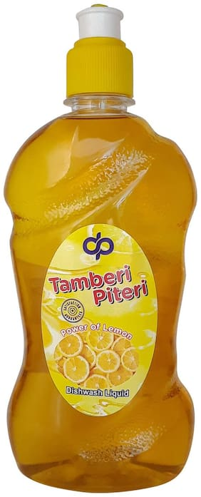 Tamberi Piteri Dish Wash Liquid Gel 500 ml (Pack Of 3)