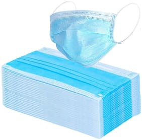 Tara Care 3 ply Surgical Face Mask  (Pack Of 50)