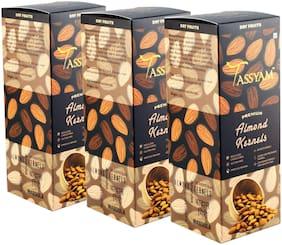 Tassyam Premium Raw Almonds 750g (3x 250g ) Badaam Giri   Healthy Dry Fruits Luxury Box by Tassyam