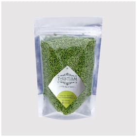 Tastism Mukhwas & Churan Green Sugar Coated Saunf / Fennel Candy Mouth Freshener (100g) Pack of 1