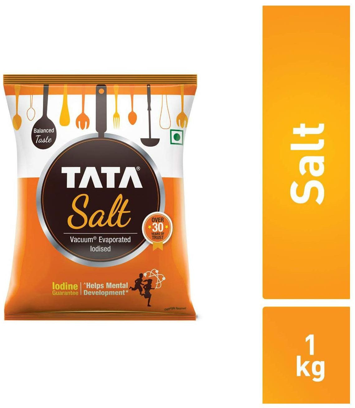Tata Salt Iodised Crystal Salt 1 kg- 17