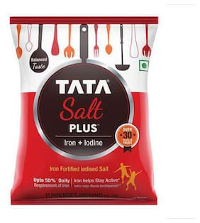 Tata Salt Salt - Iron Plus Iodine 1 kg