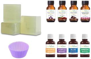 Tatvam Melt and Pour Soap Making Diy Kit (Transparent-Soap Base)