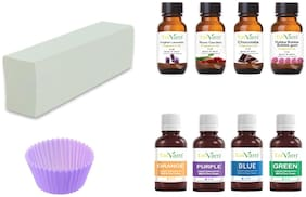 Tatvam Melt and Pour Soap Making DIY Kit (Ultra-White Base)