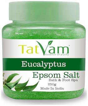 Tatvam Pure Epsom Bath & Foot Spa Salt enriched with Eucalyptus(250g)