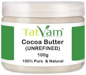Tatvam UnRefined Cocoa Butter 100G Pure & Natural