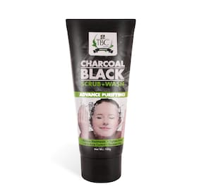 TBC by Nature Charcoal Scrub Face Wash 100gm
