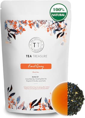 Tea Treasure Earl Grey Black Tea - 50 g
