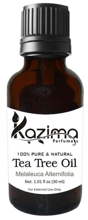 Kazima Tea Tree Essential Oil (30Ml) 100% Pure Natural & Undiluted Oil