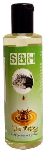 Tea tree oil 100 ml S & H 100 % pure & Natural