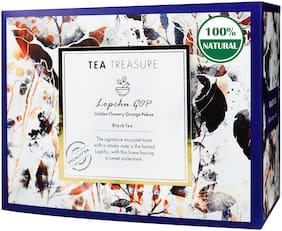 TeaTreasure Lopchu Golden Orange Pekoe Darjeeling Black Tea - 1 Teabox ( 18 Pyramid Tea Bags )