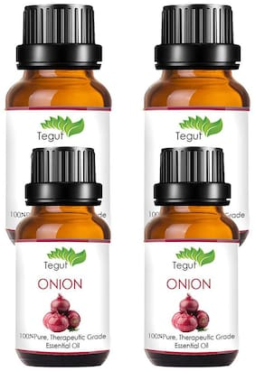 Tegut Onion Oil For Men And Women (20 ml) (Pack Of 4)